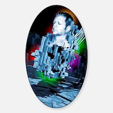 Artificial intelligence Sticker (Oval)