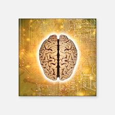 "Artificial intelligence Square Sticker 3"" x 3"""