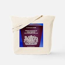 British passport Tote Bag