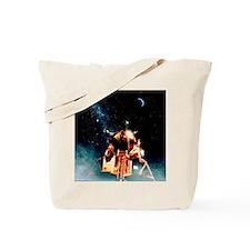 Artwork of Apollo 11 lunar module on the  Tote Bag