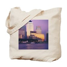 Canary Wharf skyscrapers Tote Bag