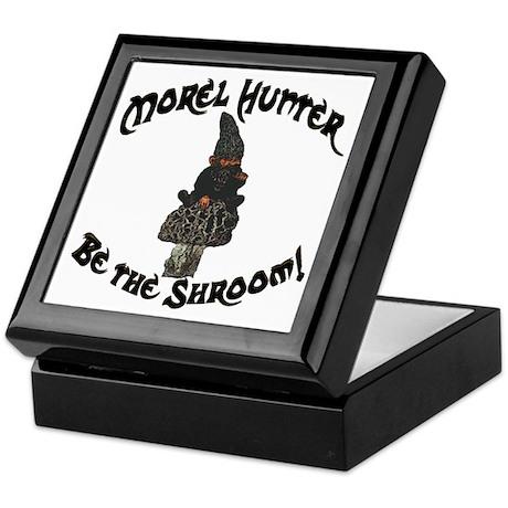 Morel Hunter BE THE SHROOM Keepsake Box