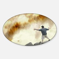 Volcano Disc Golf Decal