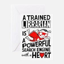 Super Librarian Greeting Card