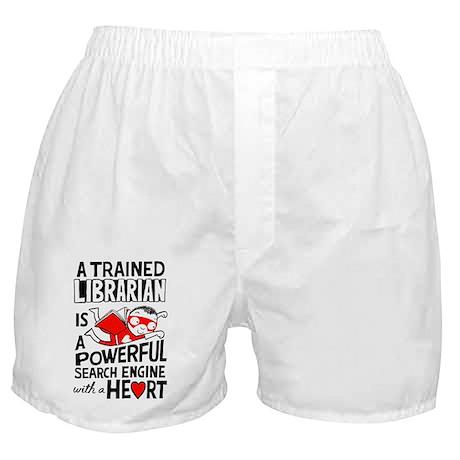 Super Librarian Boxer Shorts