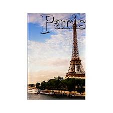 Paris_5.5x8.5_Journal_SunsetOnSei Rectangle Magnet