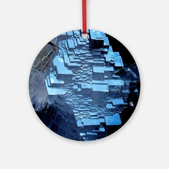 Calcite crystals Round Ornament