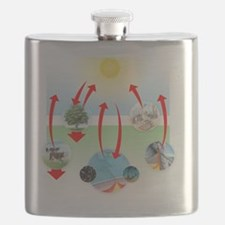 Carbon cycle Flask