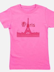 Paris_10In13_EiffelTower2_Red Girl's Tee