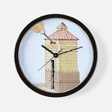 Communication tower Wall Clock