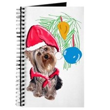 Yorkie Christmas Journal