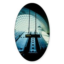 Canary Wharf tube station Decal