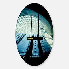 Canary Wharf tube station Decal