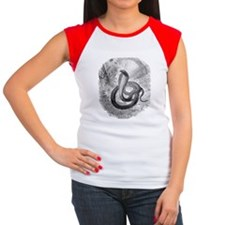 Cleopatra's asp Women's Cap Sleeve T-Shirt