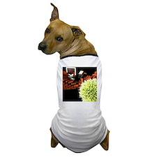 Computer virus attack, computer artwor Dog T-Shirt