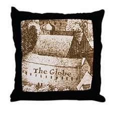 globetheatre2-men Throw Pillow