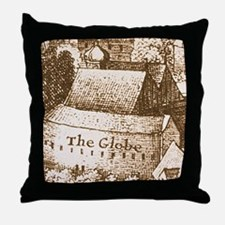 globetheatre2-men Throw Pillow