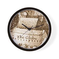 globetheatre2-men Wall Clock