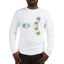 Immunoglobulin G antibody mole Long Sleeve T-Shirt