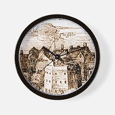globetheatre3-men Wall Clock