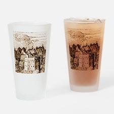 globetheatre3-men Drinking Glass