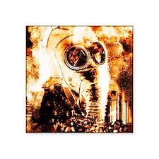 """Chemical warfare Square Sticker 3"""" x 3"""""""