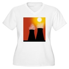 Cooling towers at T-Shirt