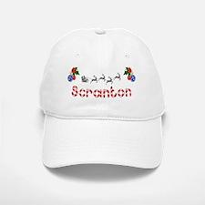 Scranton, Christmas Baseball Baseball Cap