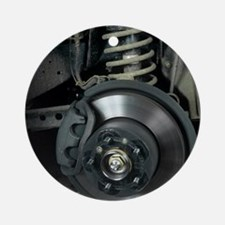 Car disc brake Round Ornament