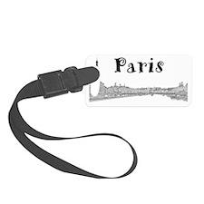 Paris_PontAlexandre_Black Luggage Tag
