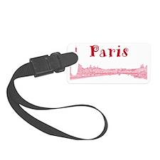 Paris_PontAlexandre_Red Luggage Tag