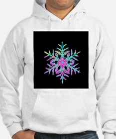 Coloured computer-enhanced image Hoodie