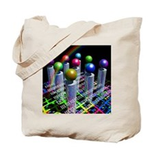 Conceptual image of the World Wide Web Tote Bag