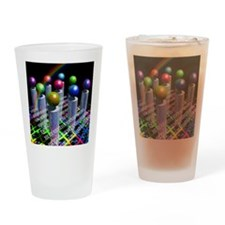 Conceptual image of the World Wide  Drinking Glass