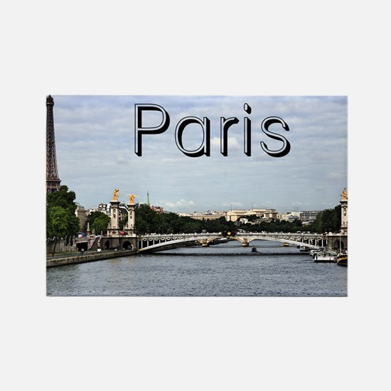 Paris_10X8_puzzle_mousepad_Pont A Rectangle Magnet