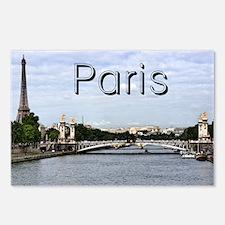 Paris_10X8_puzzle_mousepa Postcards (Package of 8)
