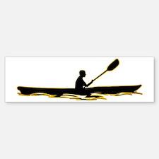 Kayaking-AD Bumper Bumper Sticker