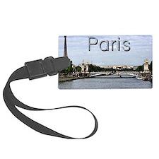 Paris_10X8_puzzle_mousepad_Pont  Luggage Tag