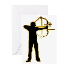 Archery-AD Greeting Card