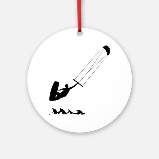 Kitesurfing-AA Round Ornament