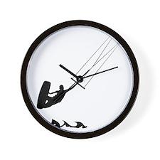 Kitesurfing-AA Wall Clock