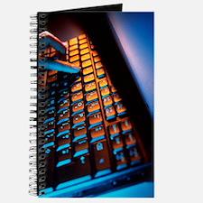 Computer keyboard Journal
