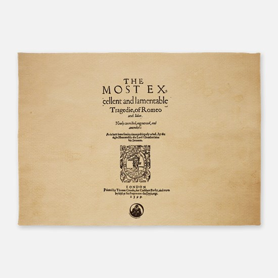 Folio-RomeoandJuliet-men 5'x7'Area Rug