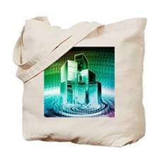 Computer meltdown Tote Bag