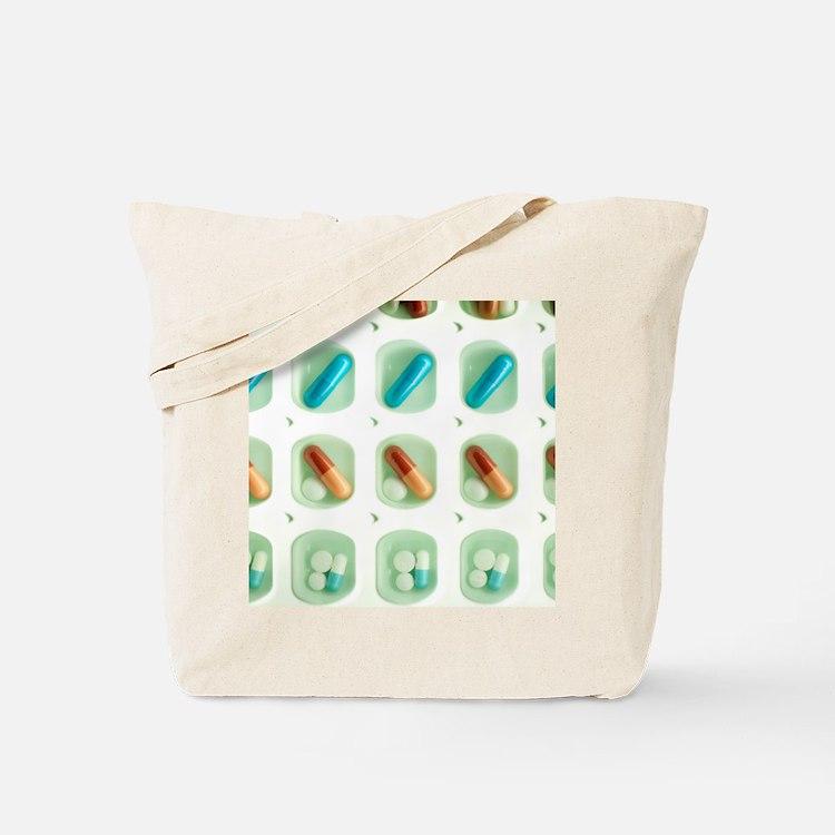 Pill organiser Tote Bag