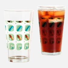 Pill organiser Drinking Glass