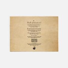 Folio-WivesofWindsor-men 5'x7'Area Rug