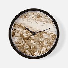globetheatre1-men Wall Clock