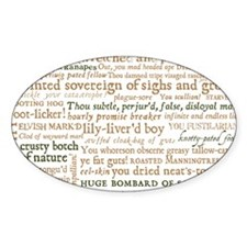 Shakespeare Insults Decal
