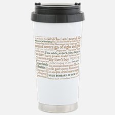 Shakespeare Insults Travel Mug